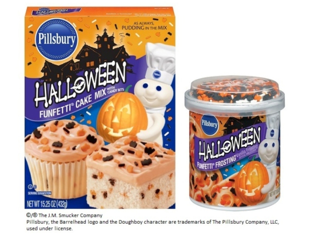 Pillsbury Halloween Cookie Cake