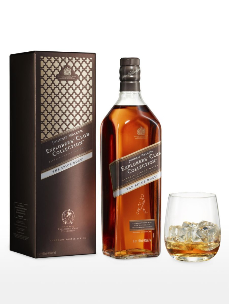 Johnnie Walker Launches The Spice Road