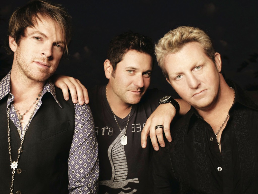 """Boots & Hearts 2013: Rascal Flatts is the best-selling country vocal group of the past decade and the #1 debut of their new release, CHANGED, earned them the distinction of being one of only four acts with seven consecutive studio albums debuting in top spot on the Billboard Country Albums chart during the Soundscan era. (CNW Group/Republic Live)""""."""