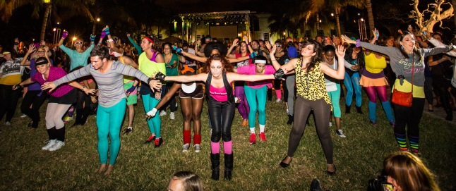 Alex Isreal Flash Mob (Courtesy: Art Basel Miami Beach 2012)