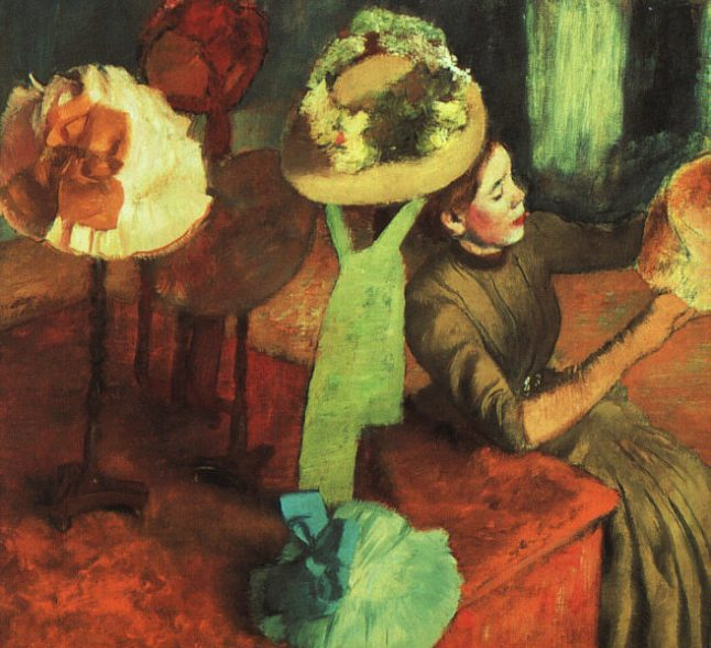 Degas's The Millinery Shop (ca. 1882-86)
