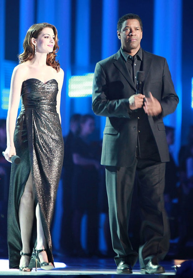 Denzel Washington has been voted the Top Money-Making Star of 2012 in Quigley Publishing Company's 81st Annual Poll of Motion Picture Exhibitors. This is Washington's eighth appearance in the Quigley Poll, and his first win. Anne Hathaway placed second. (PRNewsFoto/Quigley Publishing Company)