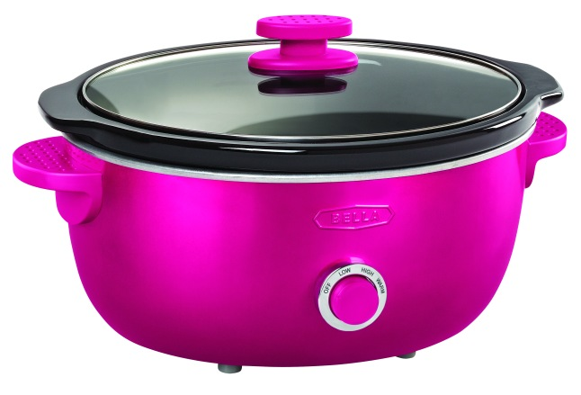 Bella Dots Slow Cooker Pink