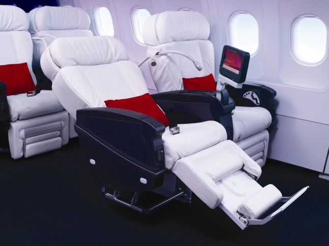First Class Cabin Seat