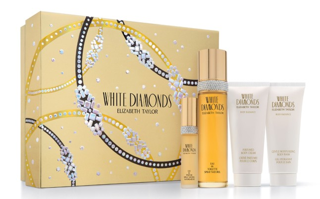 WHITE DIAMONDS ELIZABETH TAYLOR GIFT SET