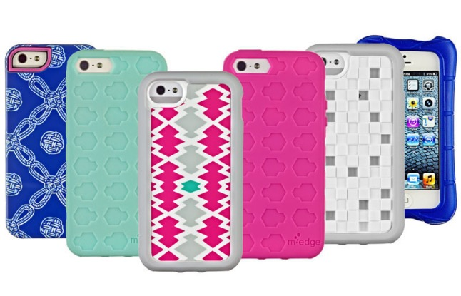 Just in time for CES 2013, M-Edge's latest smartphone accessories offer protection and style.  (PRNewsFoto/M-Edge)