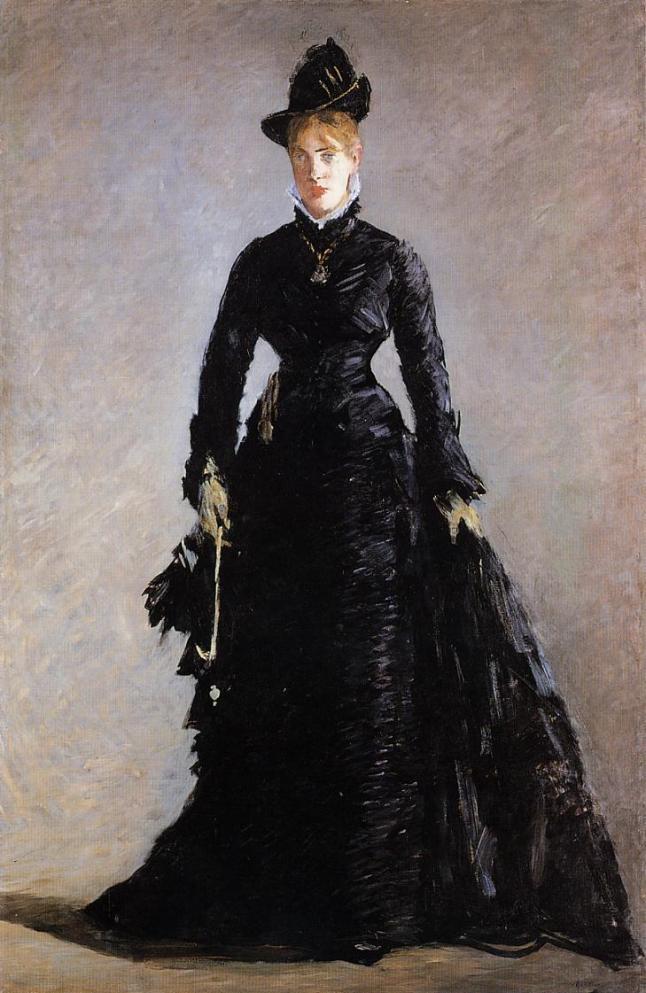 MANET - La Parisienne (ca. 1875)