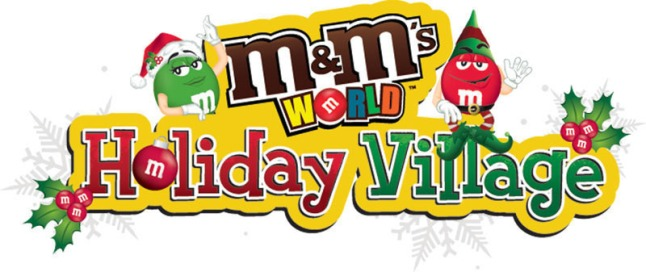 M&M'S World(R) stores unveiled the new M&M'S World Holiday Village in each of their five locations, as well as online at www.mmsworld.com. The M&M'S World Holiday Village features a variety of seasonal-themed merchandise including dispensers, clothing, ornaments and, of course, holiday-themed M&M'S(R) Brand Chocolate Candies.  (PRNewsFoto/Mars Retail Group)
