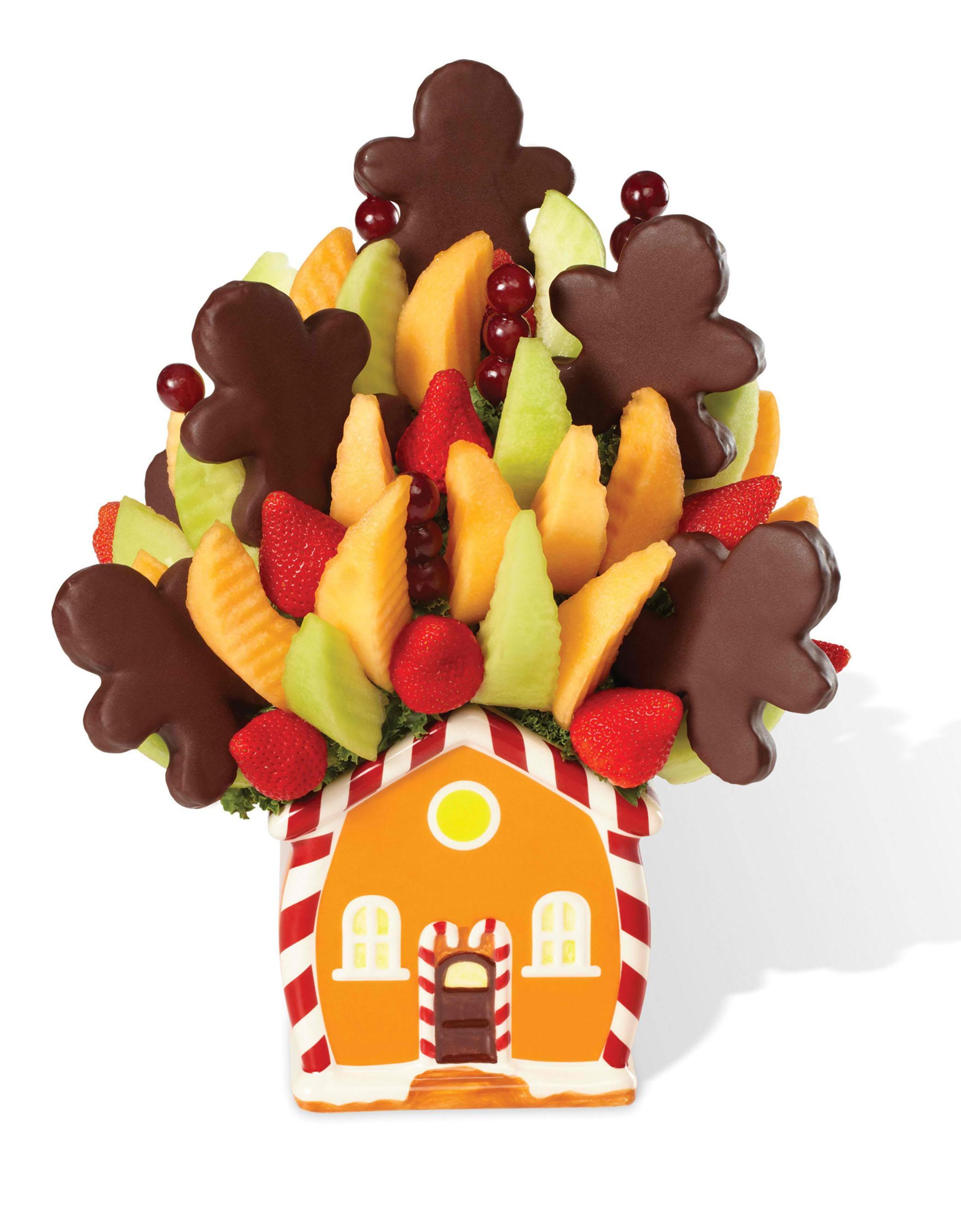 Prn2 Edible Arrangements Holiday House Bouquet 1y 1high