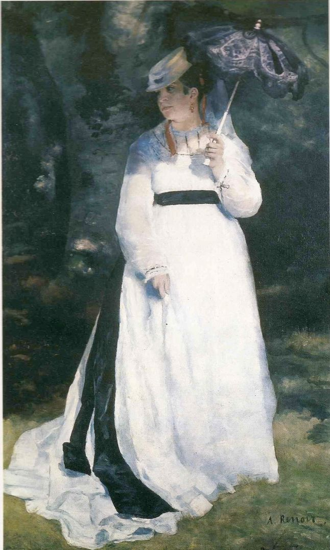 Renoir, Lise with a Parasol, 1867, Folkwang Museum, Germany