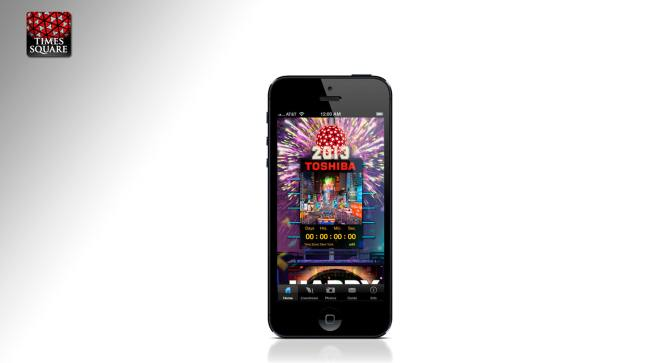 OFFICIAL 2013 TIMES SQUARE BALL APP