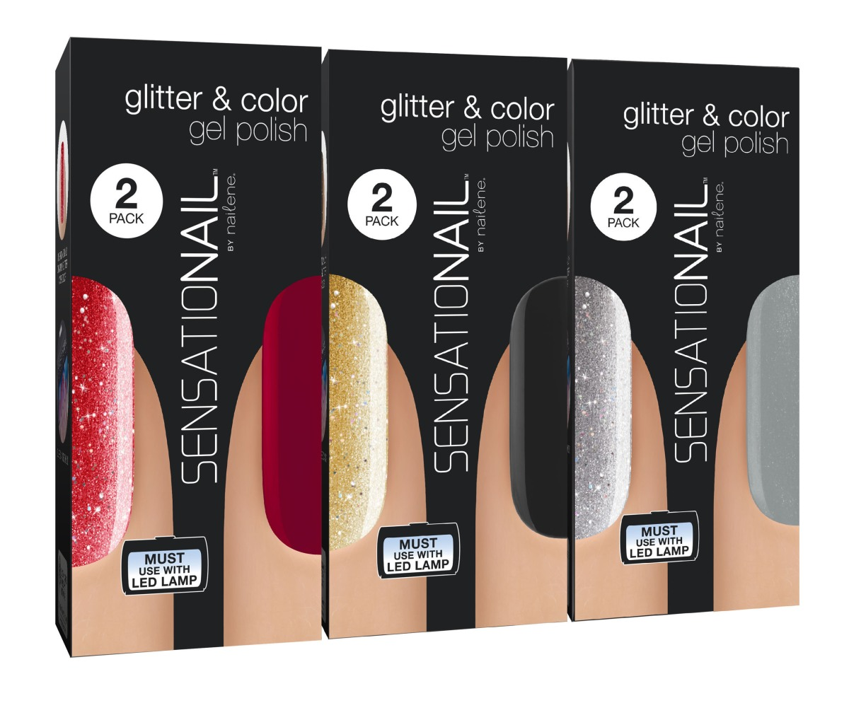 12 Sensational Schemes That Are: SENSATIONAIL GLITTER GEL POLISH