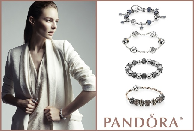 Sparkle this Season With New Pave-Set Charm Collection from PANDORA Jewelry.  (PRNewsFoto/PANDORA)