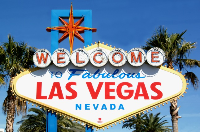 WELCOME TO LAS VEGAS (Courtesy: The Las Vegas  Covention and Visitors Bereau, www.lvcva.com)