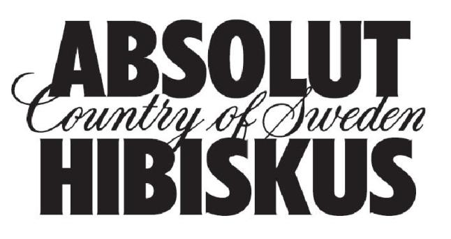 ABSOLUT® HIBISKUS logo