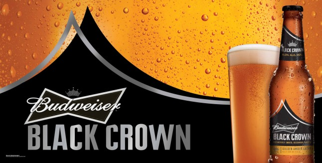 "Budweiser Black Crown proved to be the crowd favorite during ""Project 12,"" a nearly year-long process in which 12 beers from Budweiser brewmasters across the United States were ultimately narrowed to one winner through consumer sampling and feedback. The winning recipe will available for purchase nationwide starting Monday, Jan. 21 in 12-oz. glass bottles in six-, 12- and 24-packs, and in 22-oz. single bottles.-b: The Budweiser Black Crown recipe was the crowd favorite among the more than 25,000 adult drinkers from coast to coast who participated in the brand's Project 12 sampling initiative.  (PRNewsFoto/Anheuser-Busch)"