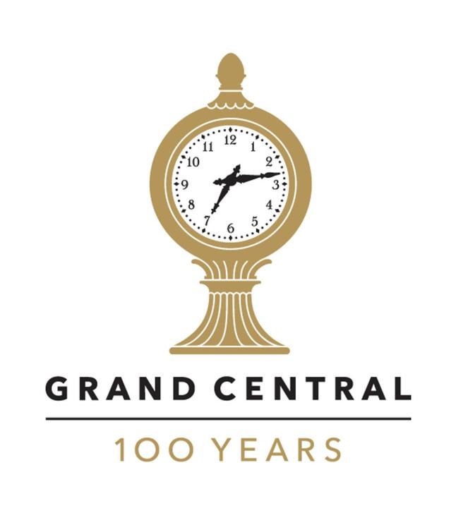 Centennial Logo: Grand Central Terminal.  (PRNewsFoto/Metropolitan Transportation Authority of New York)