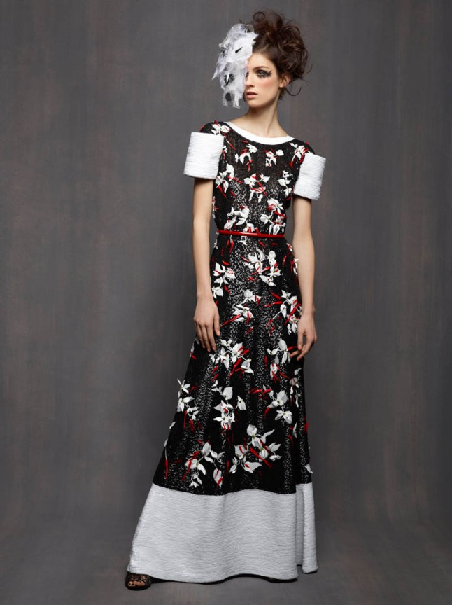 Chanel Spring/Summer 2013 Haute Couture Collection Lookbook photographed by Karl Lagerfeld