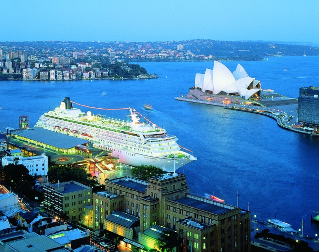 Crystal Symphony in Sydney, Australia