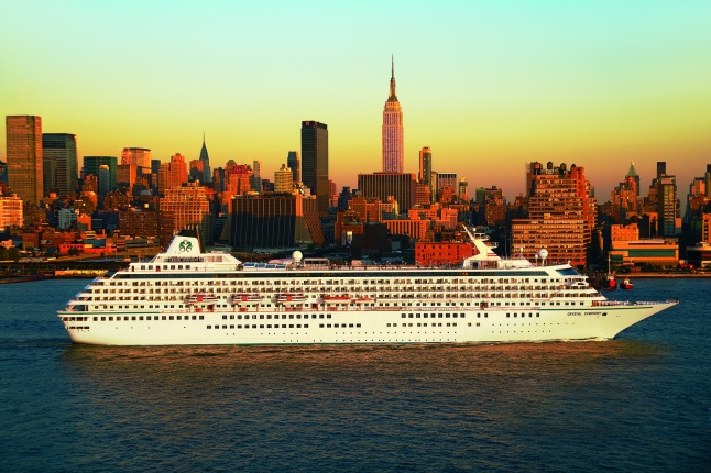 Crystal Symphony in New York City