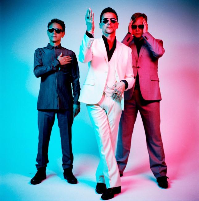 Depeche Mode - MARTIN GORE, DAVE GAHAN and ANDY 'FLETCH' FLETCHER