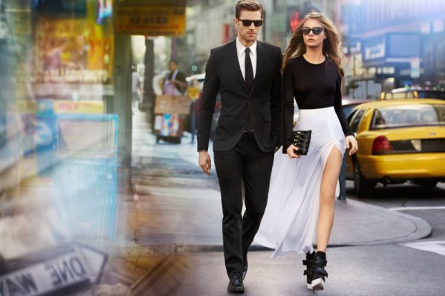 DKNY Spring 2013 Campaign by Patrick Demarchelier
