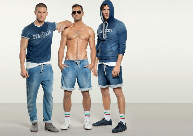Dolce & Gabbana Spring/Summer 2013 Men's Gym (& Beach) Lookbook (Courtesy: Dolce & Gabbana)