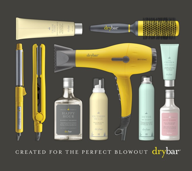DRYBAR PRODUCTS AND TOOLS: A selection of Drybar products and tools.  (PRNewsFoto/Drybar)