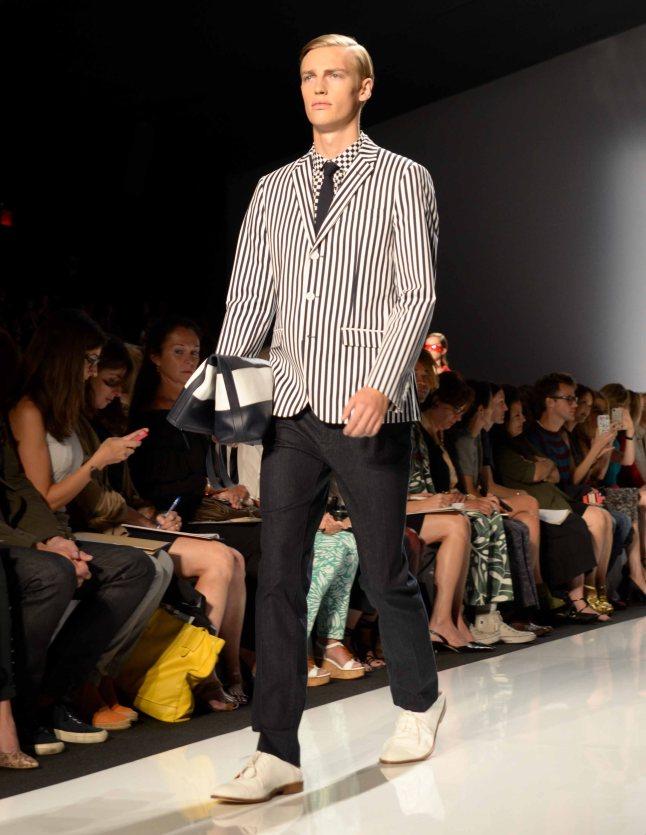 Michael Kors Spring/Summer 2013 Collection (@Sheldon Baldie/www.fashionpluslifestyle.wordpress.com)