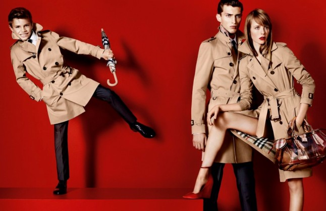 Burberry's Spring 2013 Campaign, Shot by Mario Testino