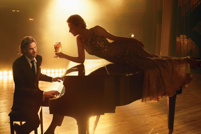 "Stella Artois ""Timeless Beauty"" Campaign Shot by ANNIE LEIBOVITZ (Courtesy: Stella Artois)"
