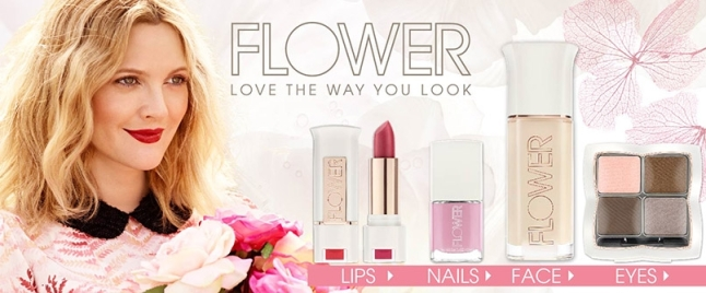 FLOWER Cosmetics by Drew Barrymore