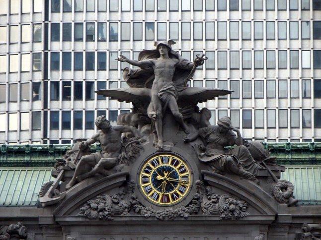 Grand Central Terminal NY Mercury Statue
