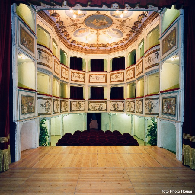 Italy's Teatro Concordia, billed as the smallest historic public theater in the world.  (PRNewsFoto/Crystal Cruises)