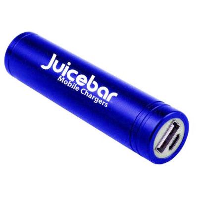 Juicebar® Power Tube Mini Charger (Blue)