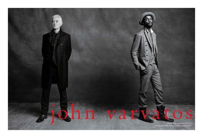 John Varvatos Spring/Summer 2013 Full Body Spread (Courtesy: John Varvatos & Danny Tagging)