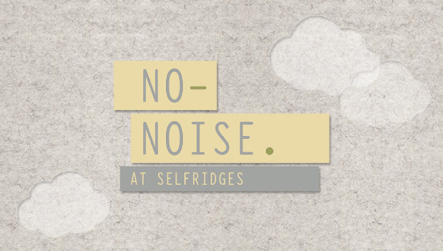 No Noise Selfridges logo