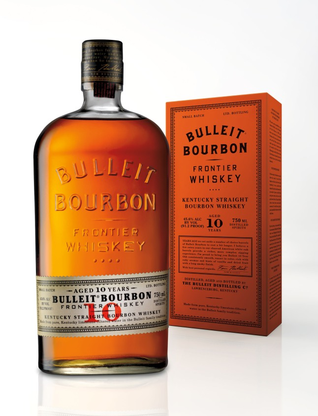 With an undeterred passion for excellent whiskey, Tom Bulleit, founder of one of America's fastest growing small batch whiskies, officially announced today the availability of his selected reserve - Bulleit(R) 10 Years Old. Bulleit(R) 10 is available nationwide for a suggested retail price of $44.99 for a 750 ml bottle.  (PRNewsFoto/Diageo)