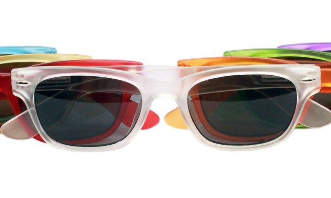 """Rainbow Bright"" from Peepers Reading Glasses all-new Designer Sunglasses Collection.  (PRNewsFoto/Peepers Reading Glasses)"
