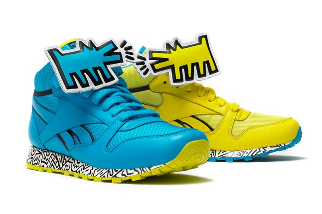 Reebok x Keith Haring Foundation Spring 2013 Capsule Collection