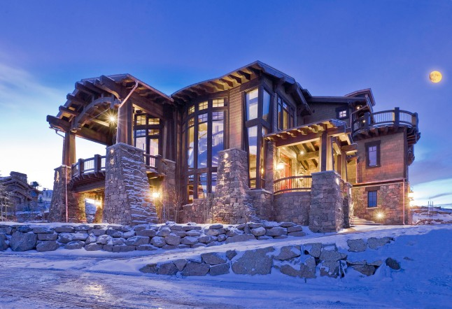 Resorts West Ski Dream Home - Deer Valley Resort.  (PRNewsFoto/Resorts West)