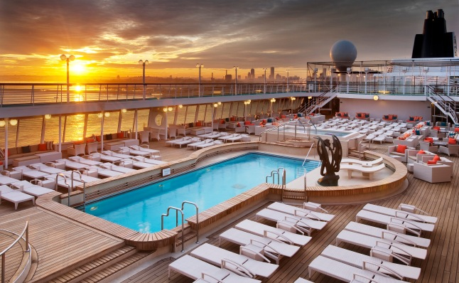 Seahorse Pool on Crystal Symphony
