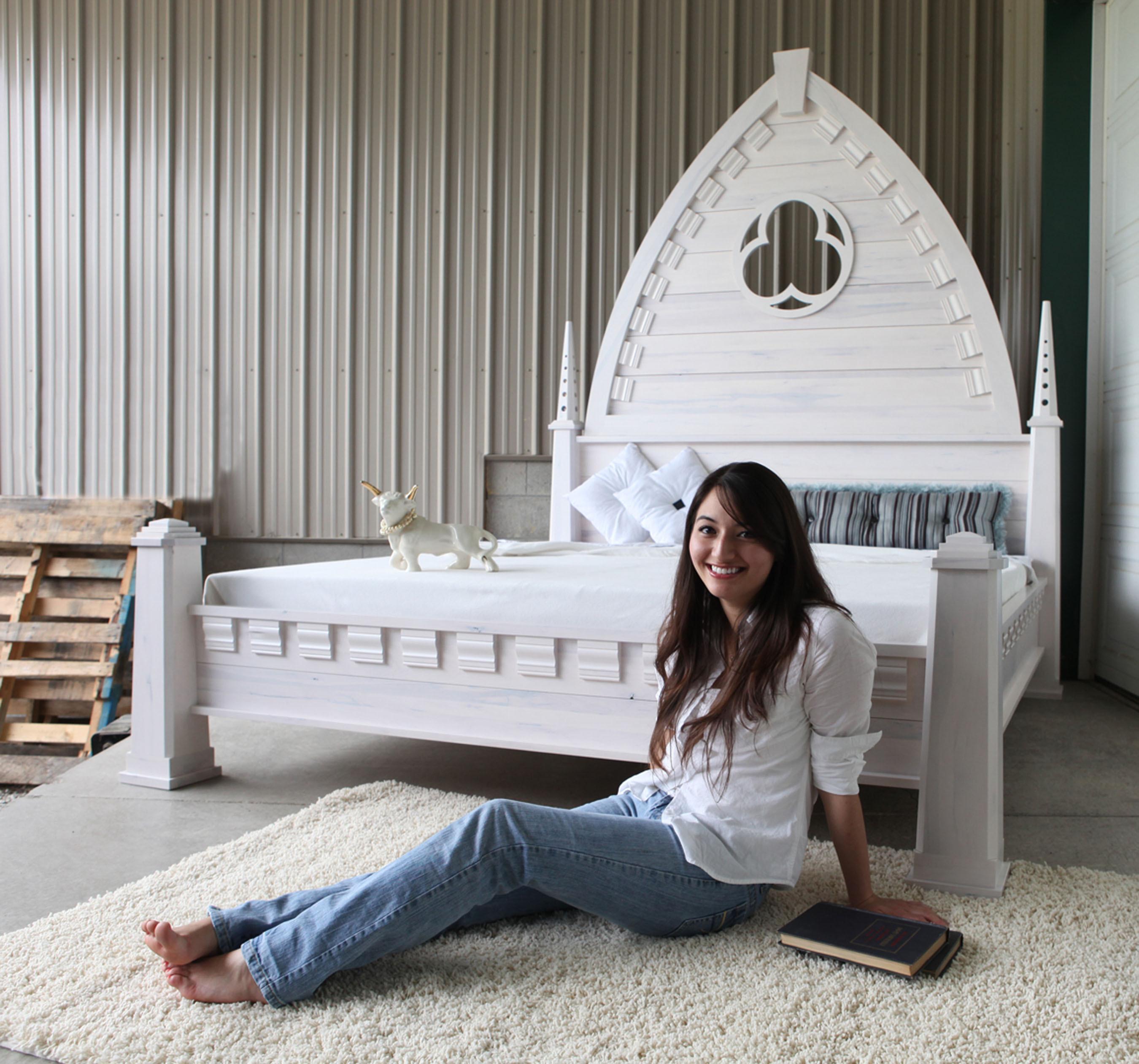 CUSTOMMADE COM GOTHIC BED | www fashion+lifestyle wordpress com