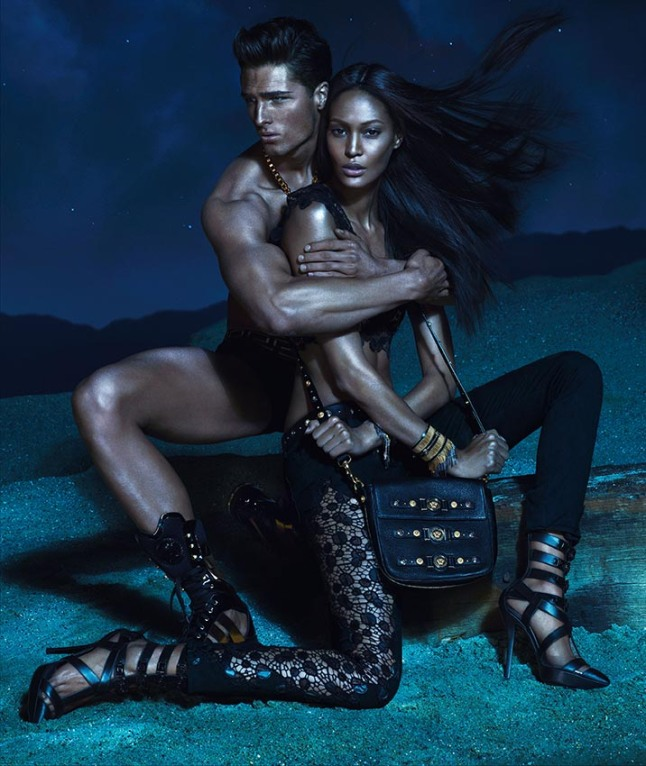 Joan Smalls in Versace Spring 2013 Campaign