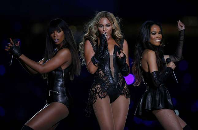 Beyonce & Destiny's Child  performing at the 2013 Super Bowl Half-Time Show