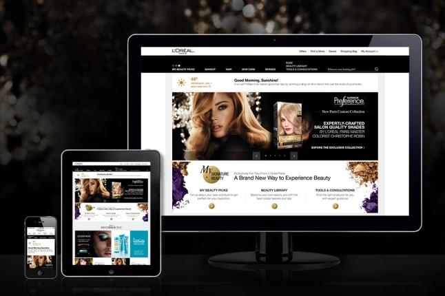 L'Oréal Paris Launches Highly-Personalized Website
