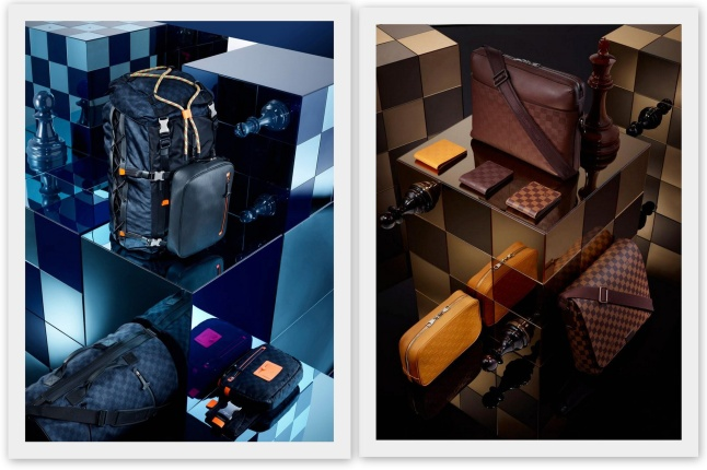 Louis Vuitton Damier Signature Spring-Summer 2013 Collection (Credit: www.louisvuitton.com)