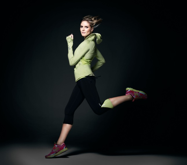 Heidi Klum for New Balance Collection Launches Exclusively at Select Lady Foot Locker Locations.  (PRNewsFoto/New Balance)