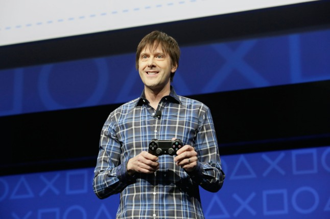 The all new DualShock 4 controller introduces enhanced features to offer gamers completely new ways to play and interact with games.  (PRNewsFoto/Sony Computer Entertainment Inc.)