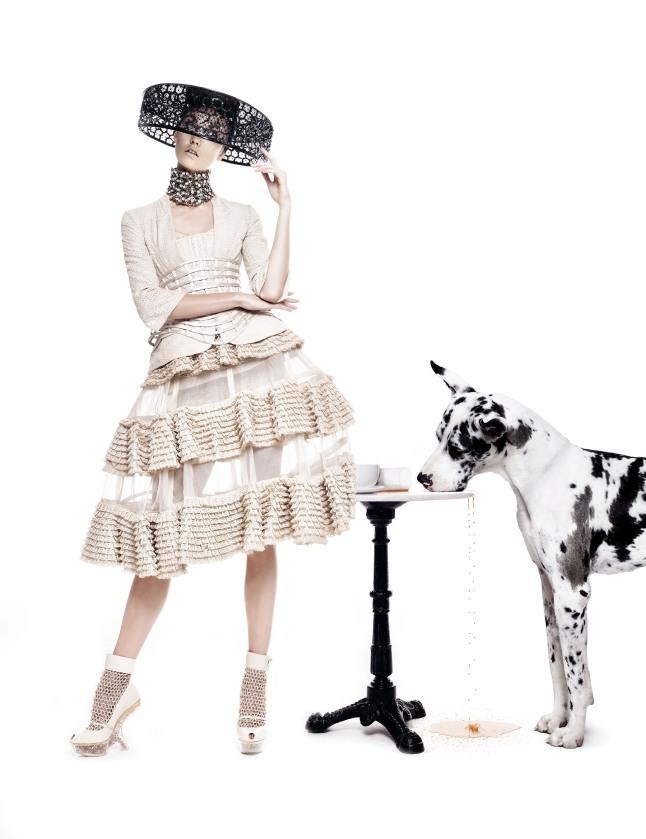 Neiman Marcus Art of Fashion Alexander McQueen.  (PRNewsFoto/Neiman Marcus)